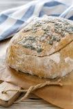 Billet dough for baking pumpkin bread. Royalty Free Stock Photos