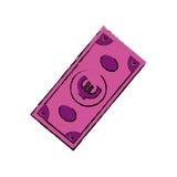 Billet of money. Icon illustration graphic design vector illustration