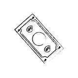 Billet of money Stock Images