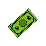 Billet of money Royalty Free Stock Photos