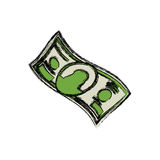 Billet of money Stock Photography