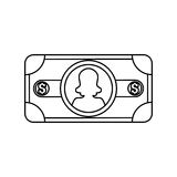 Billet of money Royalty Free Stock Image