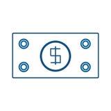 Billet money symbol. Icon vector illustration graphic design vector illustration