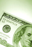 billete de banco de 100 dólares Fotos de archivo libres de regalías