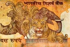 Billete de banco de Currancy de Asia Fotografía de archivo libre de regalías
