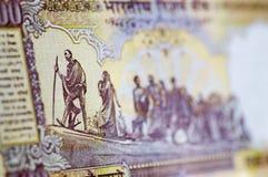 Billete de banco de Gandhi marzo Fotos de archivo libres de regalías
