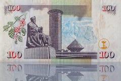 Billete de banco de Kenia Foto de archivo libre de regalías