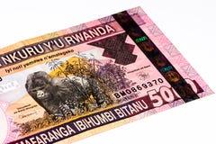 Billete de banco de la moneda de África Imagen de archivo libre de regalías