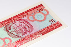 Billete de banco de la moneda de África Fotos de archivo