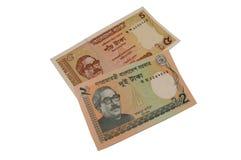 Billete de banco de la moneda de Bangladesh del taka Fotografía de archivo libre de regalías