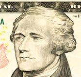 Billete de banco de la moneda de los E.E.U.U. Foto de archivo libre de regalías