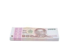 Billete de banco de Tailandia Imagen de archivo libre de regalías