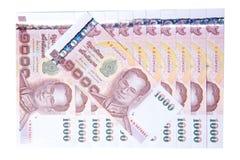 Billete de banco de Tailandia Imágenes de archivo libres de regalías