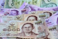 Billete de banco de Tailandia Fotos de archivo