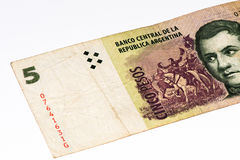 Billete de banco del currancy de Suramérica Fotografía de archivo