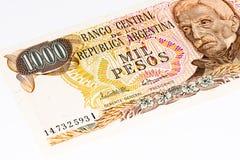 Billete de banco del currancy de Suramérica Imagenes de archivo
