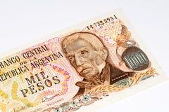 Billete de banco del currancy de Suramérica Fotografía de archivo libre de regalías