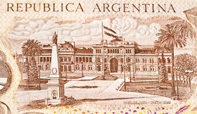 Billete de banco del currancy de Suramérica Fotos de archivo