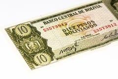 Billete de banco del currancy de Suramérica Foto de archivo libre de regalías