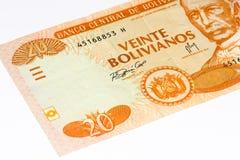 Billete de banco del currancy de Suramérica Foto de archivo