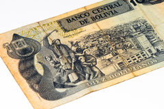 Billete de banco del currancy de Suramérica Imagenes de archivo