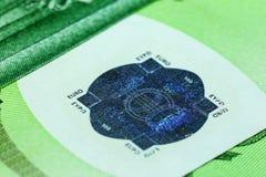 billete de banco del euro 100 Fotos de archivo libres de regalías