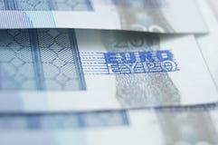 Billete de banco del euro veinte foto de archivo