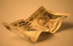 Billete de banco indio Imagenes de archivo