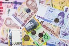 Billete de banco internacional Imágenes de archivo libres de regalías