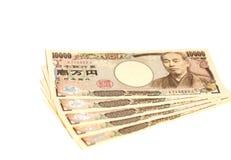Billete de banco japonés 10000 yenes Imagen de archivo