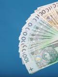 Billete de banco polaco del dinero Imagen de archivo libre de regalías