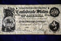 billete de dólar 500 Fotografía de archivo