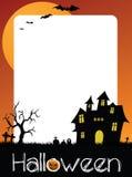 Billete de grupo de Halloween, capítulo de la foto o postal stock de ilustración