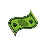 Billete del dinero Imágenes de archivo libres de regalías