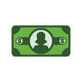 Billete del dinero Imagen de archivo libre de regalías
