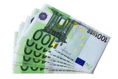 billetes de евро Стоковая Фотография RF