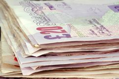Billetes de banco imagen de archivo libre de regalías