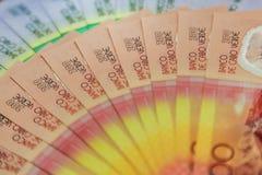 Billetes de banco de Cabo Verde imagen de archivo libre de regalías