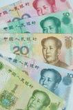 Billetes de banco chinos Fotos de archivo libres de regalías