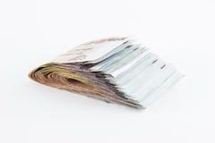 Billetes de banco del baht tailandés 1000 Fotografía de archivo