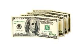 Billetes de banco del dólar. Fotografía de archivo libre de regalías