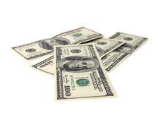 Billetes de banco del dólar. Foto de archivo libre de regalías
