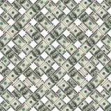 Billetes de banco del dólar Stock de ilustración