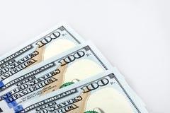 Billetes de banco del dólar de América Foto de archivo libre de regalías