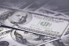 Billetes de banco del dólar de EE imagen de archivo libre de regalías