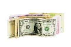 Billetes de banco del dinero Imágenes de archivo libres de regalías