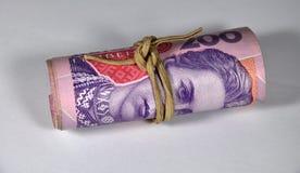 200 billetes de banco del ucraniano de UAH imágenes de archivo libres de regalías
