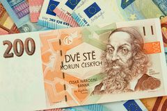 Billetes de banco de diversos países europeos