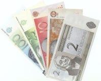 Billetes de banco estonios viejos Imágenes de archivo libres de regalías