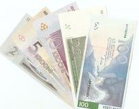 Billetes de banco estonios viejos Fotografía de archivo libre de regalías